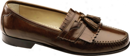 Johnston & Murphy Breland Kiltie Tassel (men's) - Saddle Tan Calf