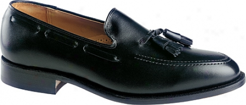 Johnston & Murphy Deerfield Ii (men's) - Black Smooth European Calf