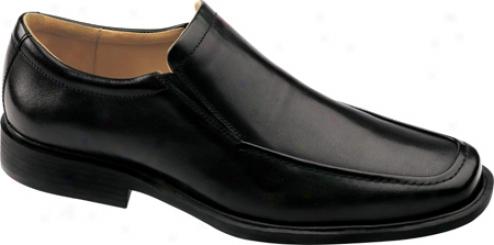 Johnston & Murphy Goodwin Moc Venetian (men's) - Black Calf
