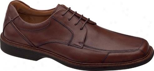Johnston & Murphy Pattison Lace-up (men's) - Mahogany Waterproof Full Grain Leather