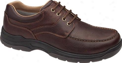Johnston & Murphy Ridgemont Moc Lace-up (men's) - Oak Waterproof Full Grain Leather