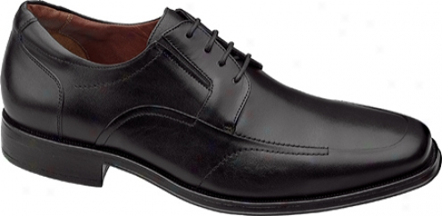 Johnston & Murphy Stricklin Moc Lace-up (men's) - Black Calf