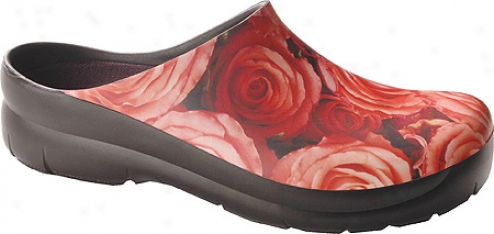 Jollys Picture Clog (women's) - Roses