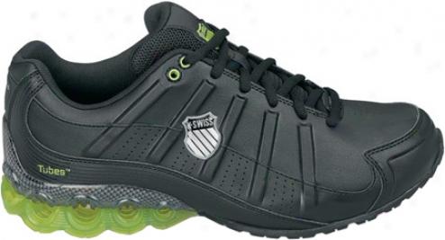 K-swiss Clear Tubes 50 (men's) - Black/silve5/bright Green