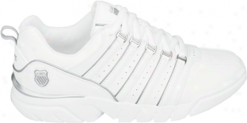 K-swiss Court Le Contestor (men's) - White/platinum