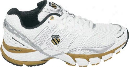 K-swiss Keahou I i(women's) - White/gold/silver