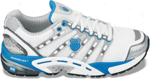 K-swiss Konesuc (women's) - White/brilliant Blue/charcoal