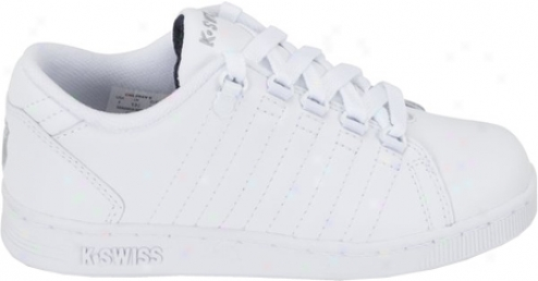 K-swiss Lozan Ii (girls') - White/white/black