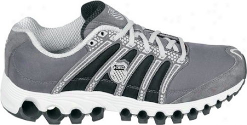 K-swiss Tubes Rin 100 Sde (children's) - Charcoal/gull Grey/black