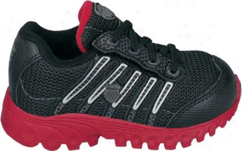 K-swiss Tubes Run 100 Vlcmsh (infants') - Black/silver/true Red