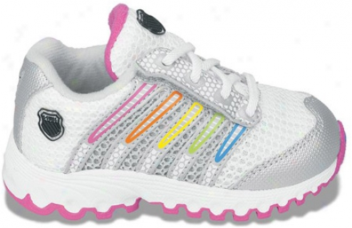 K-swiss Tubes Run 100 Vlcmsh (infants') - White/silver/multi