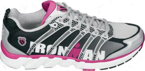 K-swiss Ultra Natural Run Ii Ironman (women's) - Black Fade/fruit Punch/silver