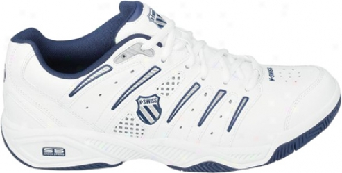K-swiss Uproar Iv (boys') - White/navy/silver