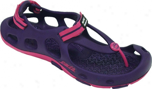 Kzlso Earth Shoe Aquatix (women's) - Purple/rose Eva