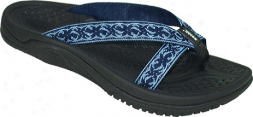Kalso Earth Shoe Cabo San Lucas 2 (women's) - Sea Blue Nylon