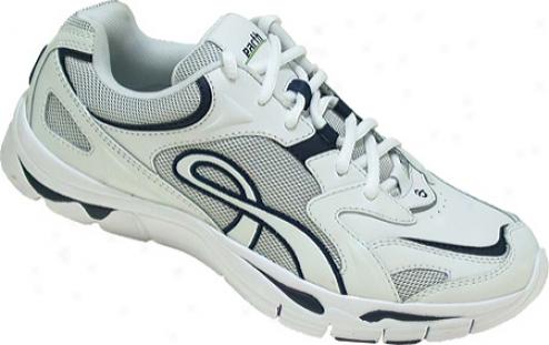 Kalso Earth Shoe Exer-walk-k (men's) - White/navy K-calf