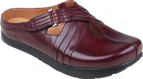 Kalso Earth Shoe Fawn (women's) - Merlot Premium Calf