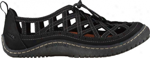 Kalso Earth Shoe Innovate (womens) - Black Savage Leather