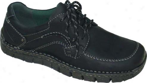 Kalso Earth Shoe Junction (men's) - Black Bandit Leather