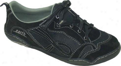 Kalso Earth Shoe Premier 3 (women's) - Blzck Suede