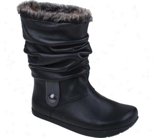 Kalwo Earth Shoe Shannon (women's) - Black Leather