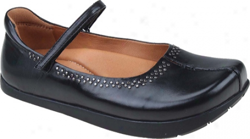 Kalso Earth Shoe Solar Too (women's) - Black Premium Calf