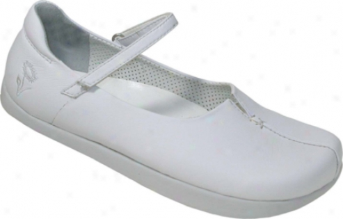 Kalso Earth Shoe Solar Vegan (women's) - White Twistech