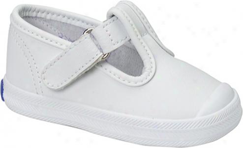 Keds Pw Champion T-strap (infant Girls') - White
