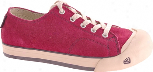 Keen Coronado Suede Lace (children's) - Beet Red