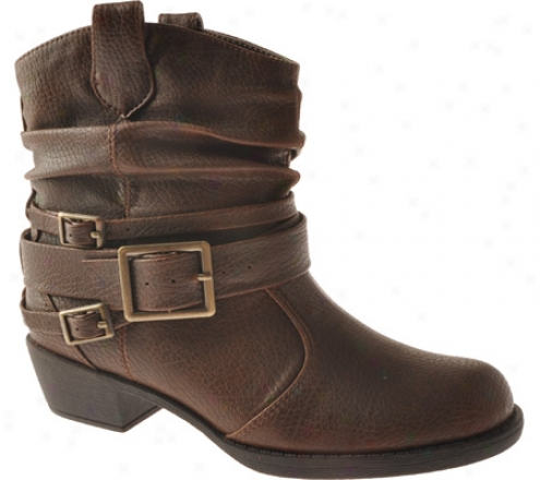 Kenneth Cole Reaction Line Dance (girls') - Brown Pebbled
