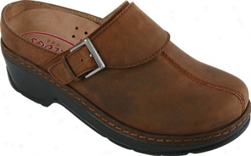 Klogs Austin (women's) - Dark Brown Oil