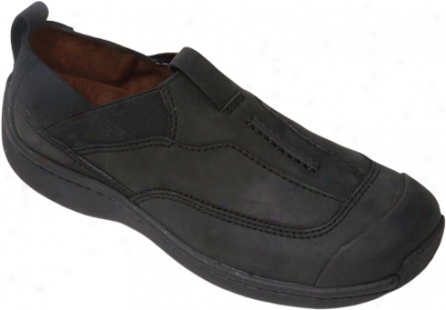 Klogs Ridge (men's) - Black Oil Leather