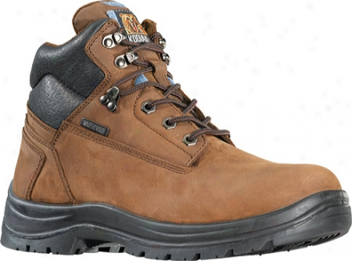 """kodiak 6"""" Steel Toe Nubuck Boot (214010) (men's) - Brown"""