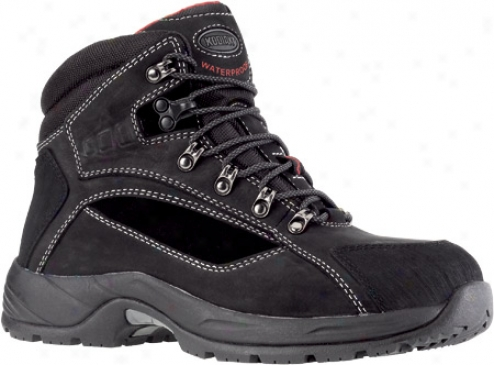 Kodiak Endurance Steel Toe (202045) (men's) - Blavk Waterproof Leather