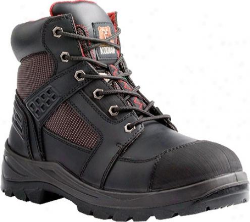 """""""kodiak Rebel 8"""""""" (men's) - Black Smooth Leather"""""""