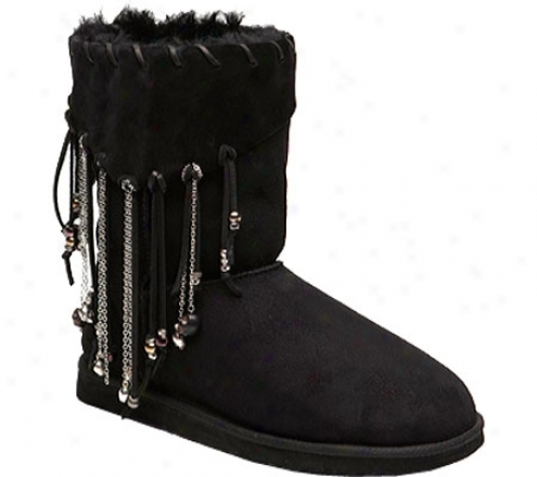 Koolaburra Drew (women's) - Black Suede