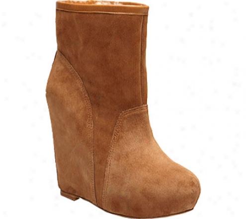 Koolaburra Elena (women's) - Chestnut Leather