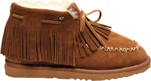 Koolaburra Siouxxie (women's) - Chestnut Suede