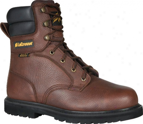 """lacrosse 8"""" Foreman Hd St (men's) - Brown"""