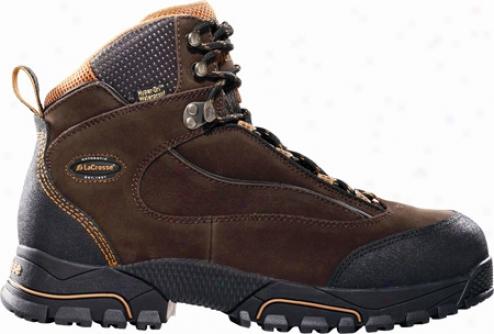 """lacrosse Gridline Hd 6"""" Safety Toe (men's) - Brown"""