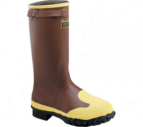 """lacrosse Industrial 16"" ""Protecta (men's) - Brown/yellow"""