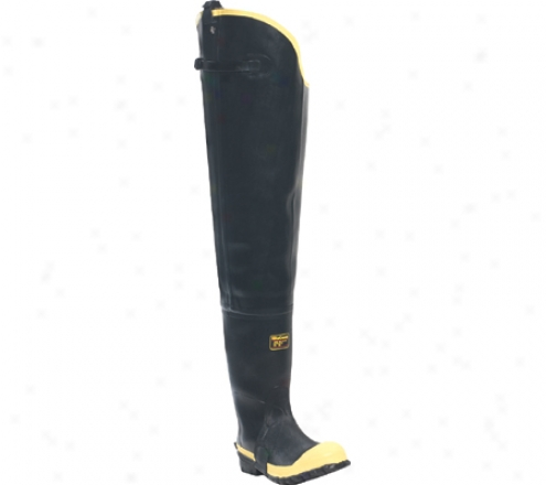 """""""lacrosse Industrial 31"""""""" Insulated Storm Hip Boot (men's) - Black/yellow"""""""