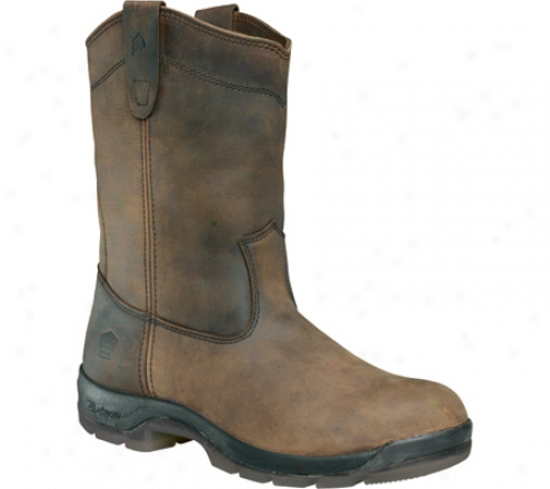 """lacrosse Wellington Qc Hd Steel Toe 11"""" (men's) - Brown"""
