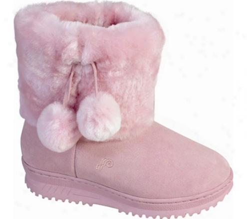 Lamo Pom Pom Boot (women's) - Pink