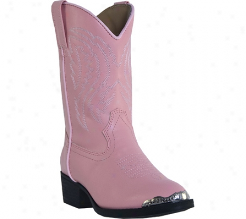 Laredo Cowboy With Toe Rand Lc2442 (girls') - Pink