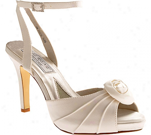 Liz Rene Rose (women's) - White Silk Satin