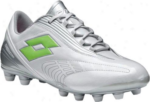 Lotto Fuerzapura L500 (men's) - Bright White/silver