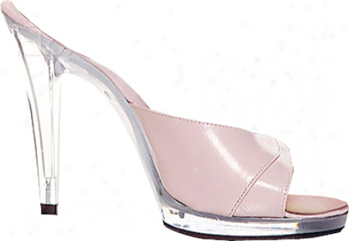 Lucious Rosebud-501 (women 's) - Baby Pink Leather