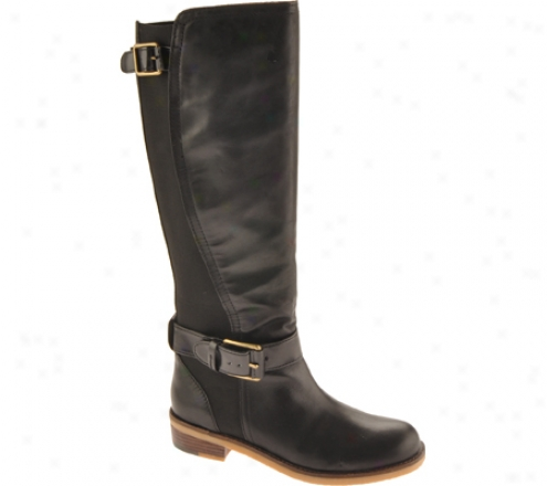 Lucky Brand Aida (women's) - Black Leather