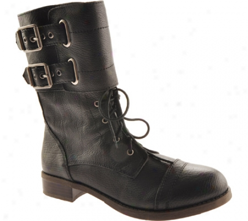 Prosperous Brand Glora (women's) - Black Leather